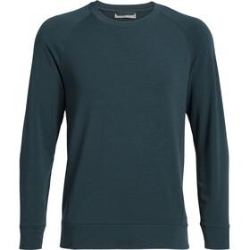 Icebreaker Momentum Camiseta manga larga cuello redondo Hombre, nightfall